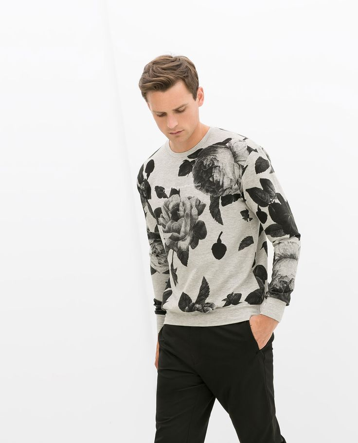 Image 1 of PRINTED SWEATSHIRT from Zara