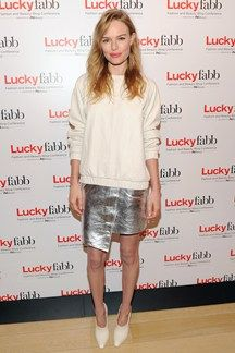 Kate Bosworth at a Lucky magazine event in NY