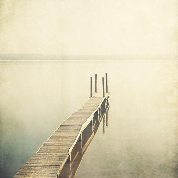 Bestill  Landscape photograph Lake Pier by EyePoetryPhotography, $30.00