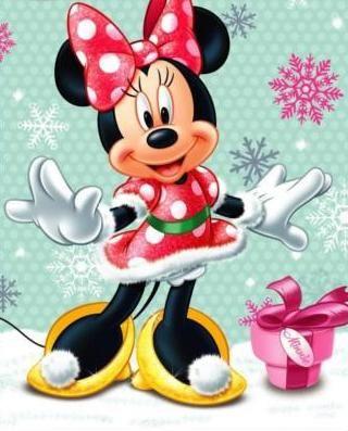 Christmas Minnie Mouse!