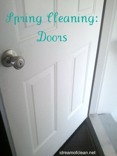 Spring Cleaning - 16 ideas to do in 30 minutes. Get on it early and you'll have a sparkling home fast! Number 3 is awesome!