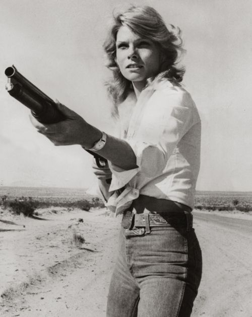 Cathy Lee Crosby, 1976 (by pictosh) Stick em up