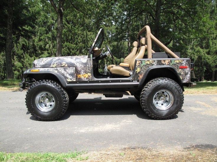 Jeep cj mossy oak camouflage jeep cj jeeps and motor car for Mossy motors used cars