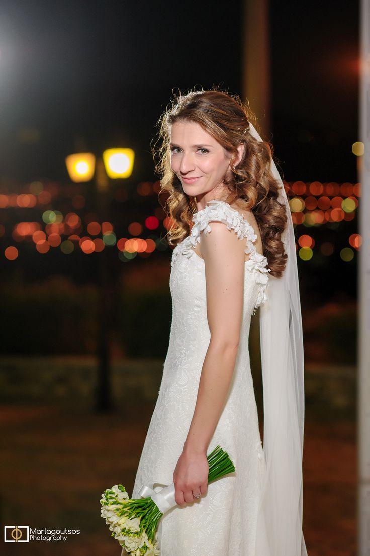 Eleni Kollarou / Lace wedding dress