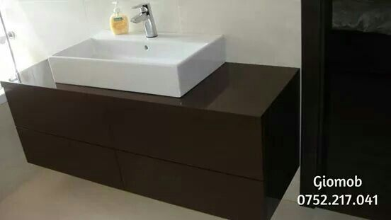 Brown bathroom furniture/modern style/ Giomob