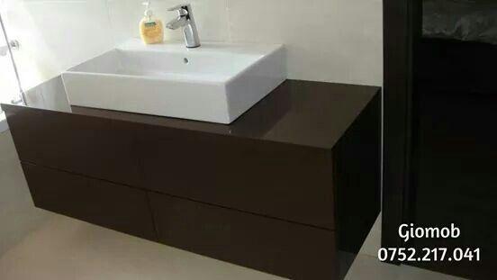 Brown bathroom furniture/modern style/ Giomob
