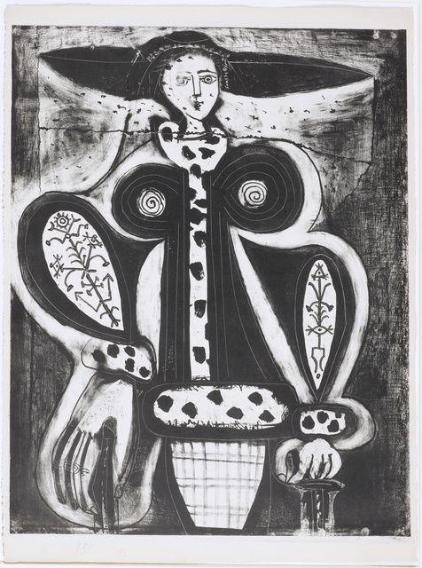 Pablo Picasso   Femme au fauteuil (1948)   Available for Sale   Artsy
