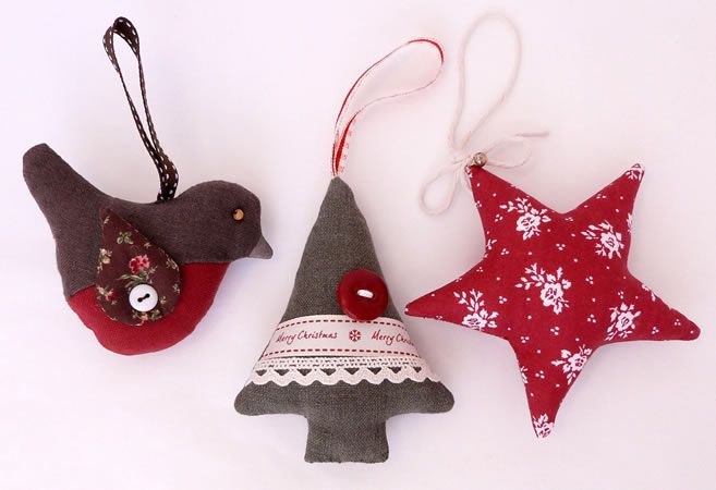 « Learn to sew – Christmas decorations «