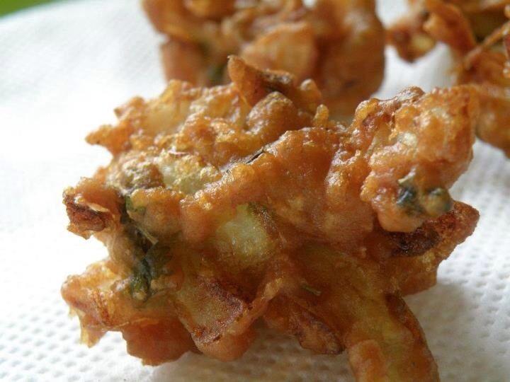Onion Bhajis - allergy free