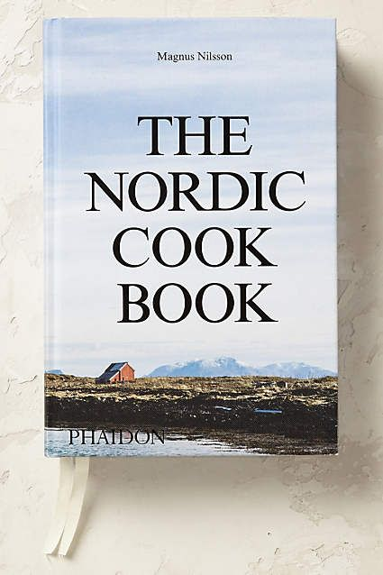 Anthropologie EU The Nordic Cookbook. Explore the rich culinary offerings of the Nordic region, with over 700 recipes collected by acclaimed Swedish chef Magnus Nilsson.