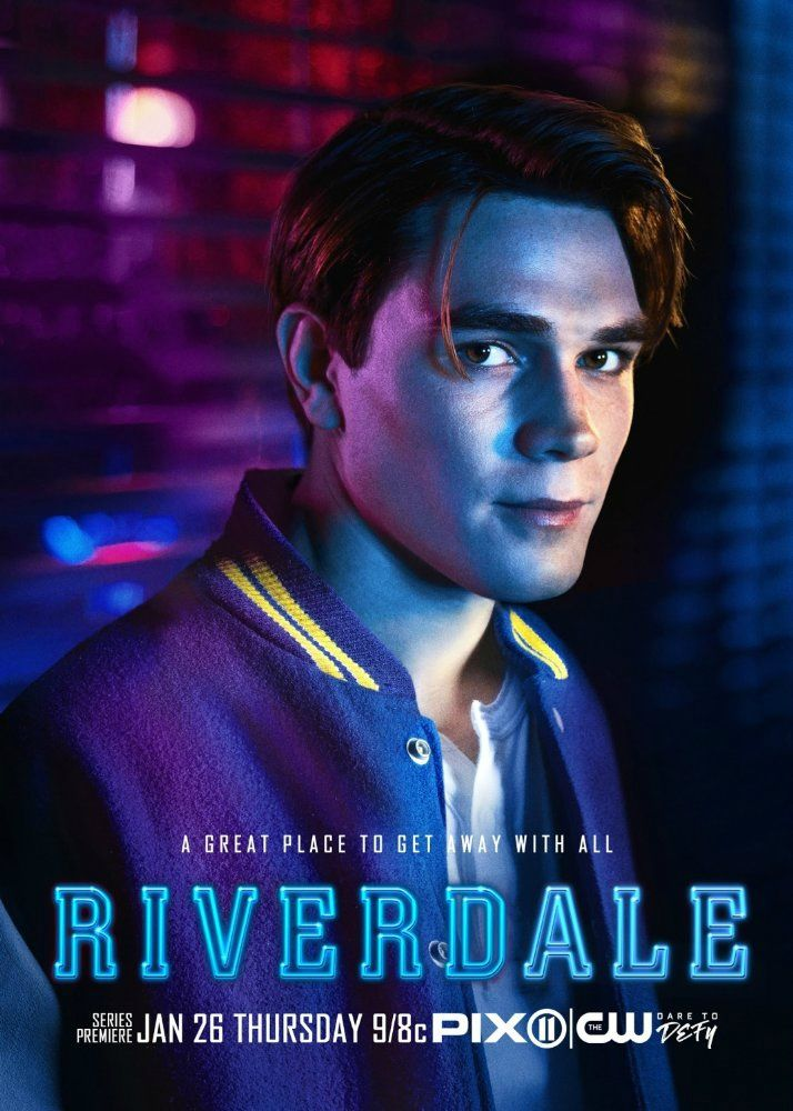 """K.J. Apa is Archie Andrews in the new TV series """"Riverdale"""", based on the classic Archie Comics, on the CW."""