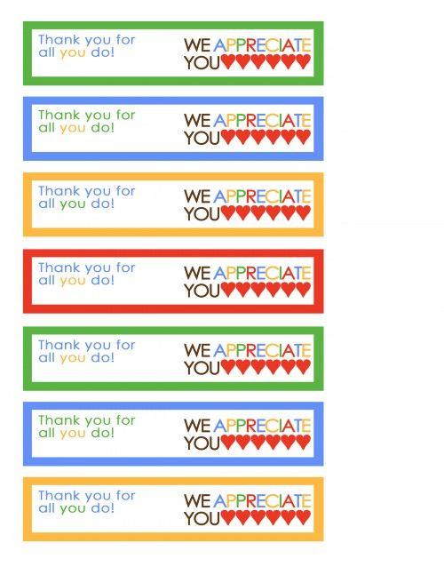 we appreciate you tags rainbow
