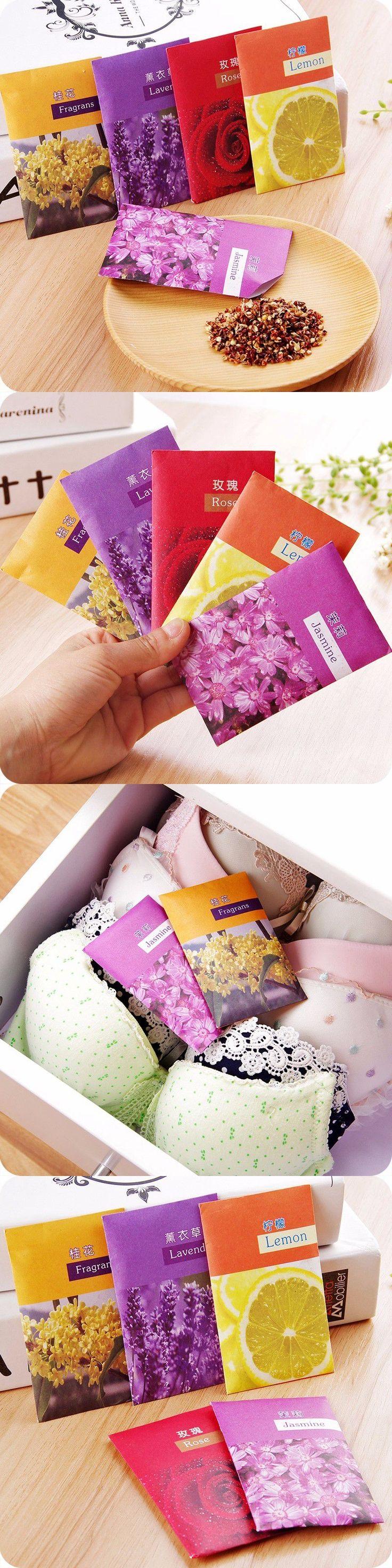 1pc Deodorant Wardrobe Closet Sachets Car Sachet Dried Clothes Damp Mildew Odor Fragrance Sachet Olor Refrigerador