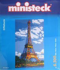 MINISTECK ® Jeu De Creativité 31862 Tour Eiffel 6300 Pièce Puzzle 40 x 66 cm