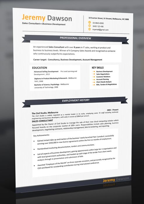10 best Sample Resumes \ Professional Resume Templates images on - free resume templates australia download