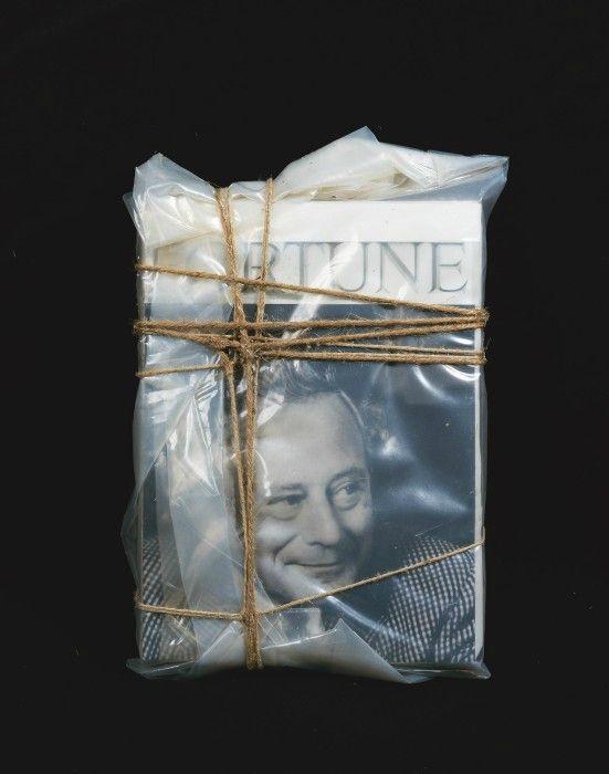 Christo: Wrapped Magazines (for Reinhold Würth), 2000. Sammlung Würth, Inv.7510 © Christo 2015, Foto: André Grossman