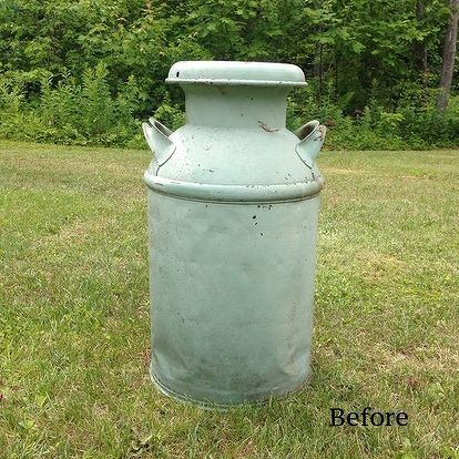 1000 ideas about old milk cans on pinterest milk can for Old milk can decorating ideas