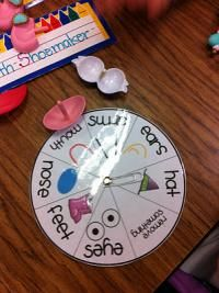 Ideas for Preschoolers: All About Me