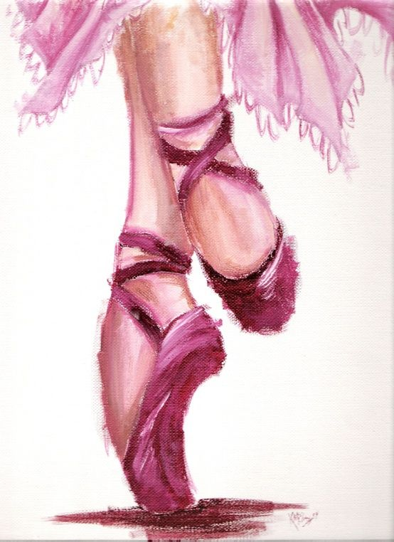 I always dreamed of dancing ballet. Never did, but some day I still may. I'm a dreamer you know! VCRS age 64