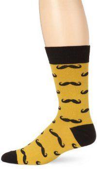 Mustache Socks - crazy socks for men