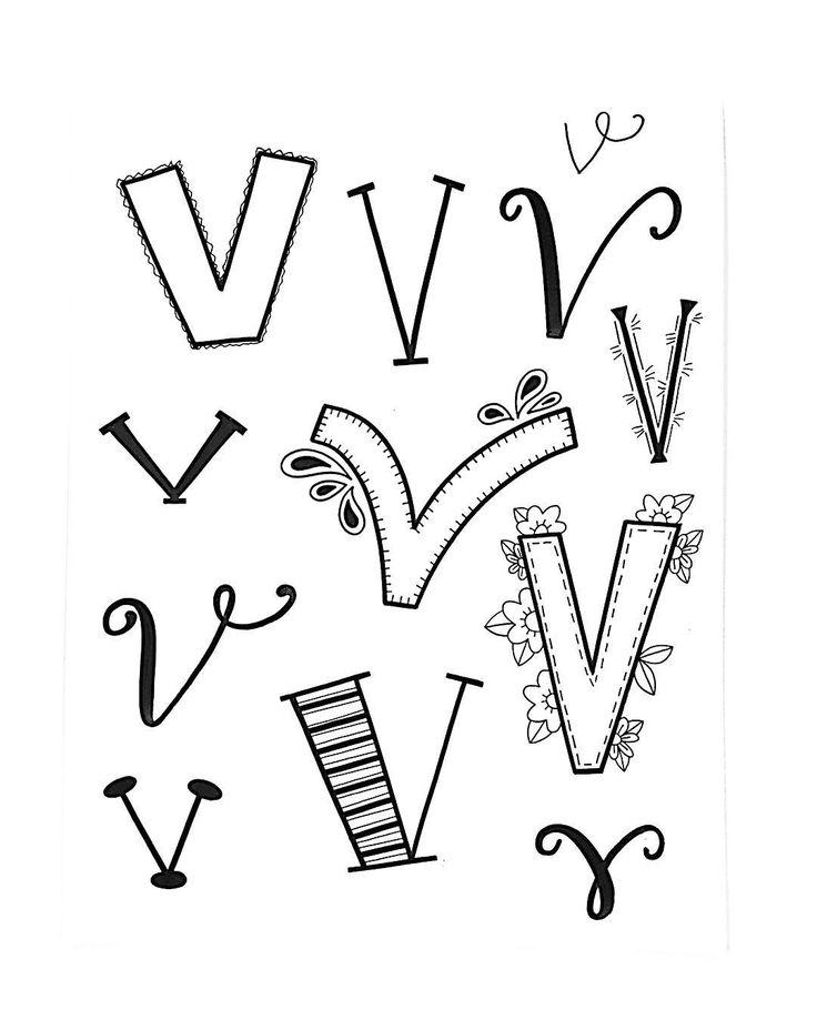 """296 Likes, 6 Comments - Jessie Arnold (@mrs.arnoldsartroom) on Instagram: """"Almost done!!! Letter V for #handletteredabcs! #handletteredabcs_2017 #abcs_v #lettering…"""""""