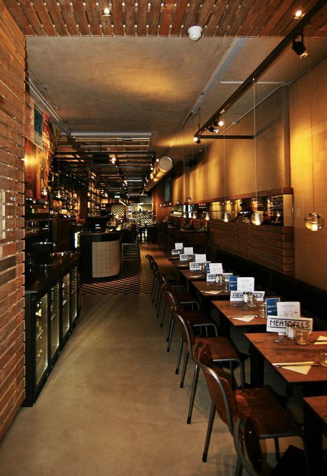 Restaurant interior & designhachich