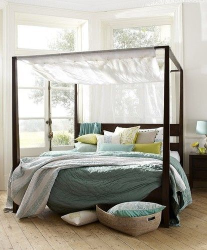 i always wanted a canopy bed...