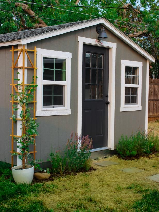 Inspiring Ideas For Shed Makeovers Room Makeovers To Suit Your Life Hgtv Shed Makeover Backyard Shed Shed Homes