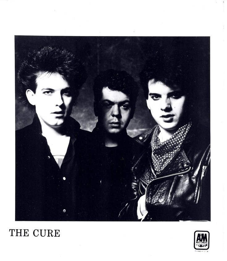 The Cure (1981) love my all time favorite band since a child!!!