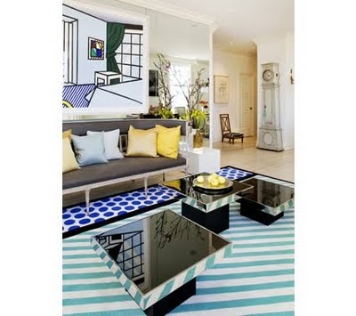 Interior inspiration roy lichtenstein 39 s pop art - Muebles pop art ...
