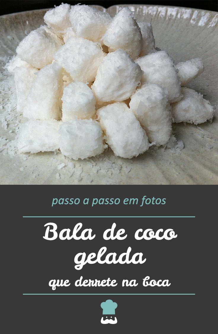 Bala De Coco Gelada Receitas Balinha De Coco E Drinks Receitas
