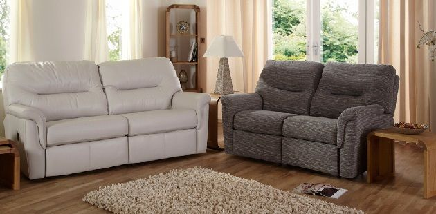 Mix and Match Leather and Fabric Sofas | Sofas for small ...