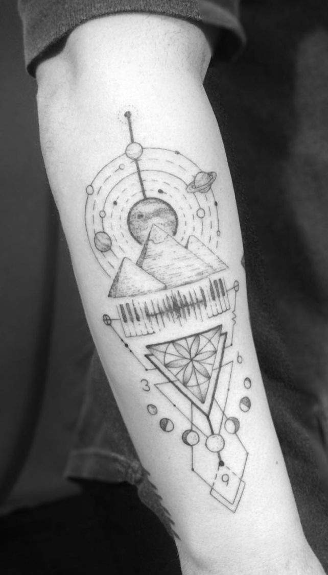 Tattoos männer frauen arm 100 Inner