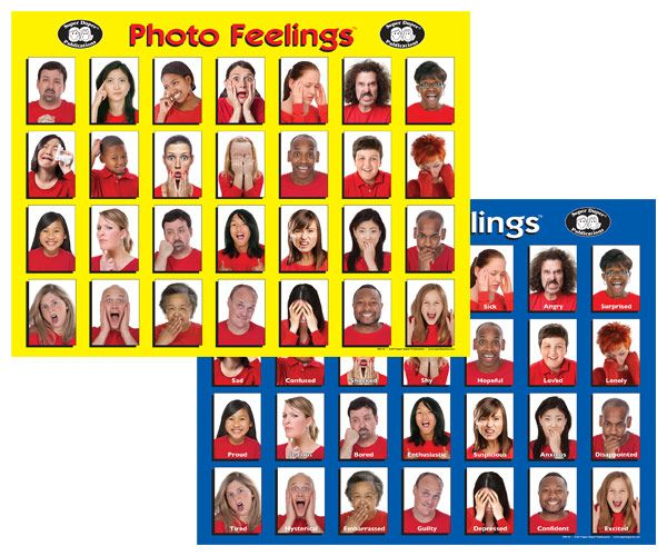 Photo Feelings Posters Feelings Feelings Emotions Blue Poster