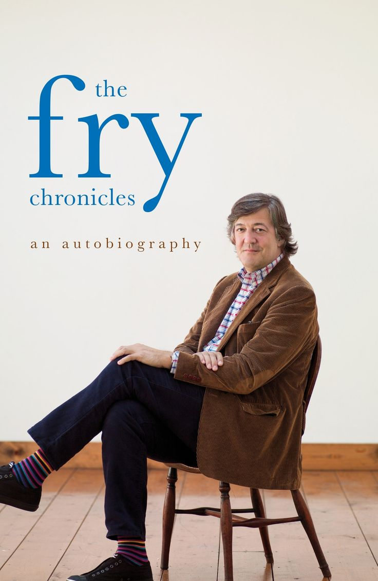 a biography of stephen fry a writer Stephen fry: britain's beloved writer, actor, presenter, comedian, and all round brain box released a new memoir in october 2014 fry has already released two previous biographical efforts: moab is my washpot and the fry chronicles respectively.