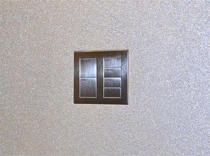 Wall-Smart for Lutron Palladiom Square 2 Column Metal