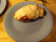 Enjoy this quick and easy recipe for Lighter Chicken Parmesan