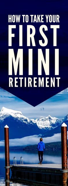 What an interesting post! You don't need to wait until your sixties for retirement. Mini retirements mean you can enjoy retirement at all ages, travel, explore your passions, and still have a career. Check it out!