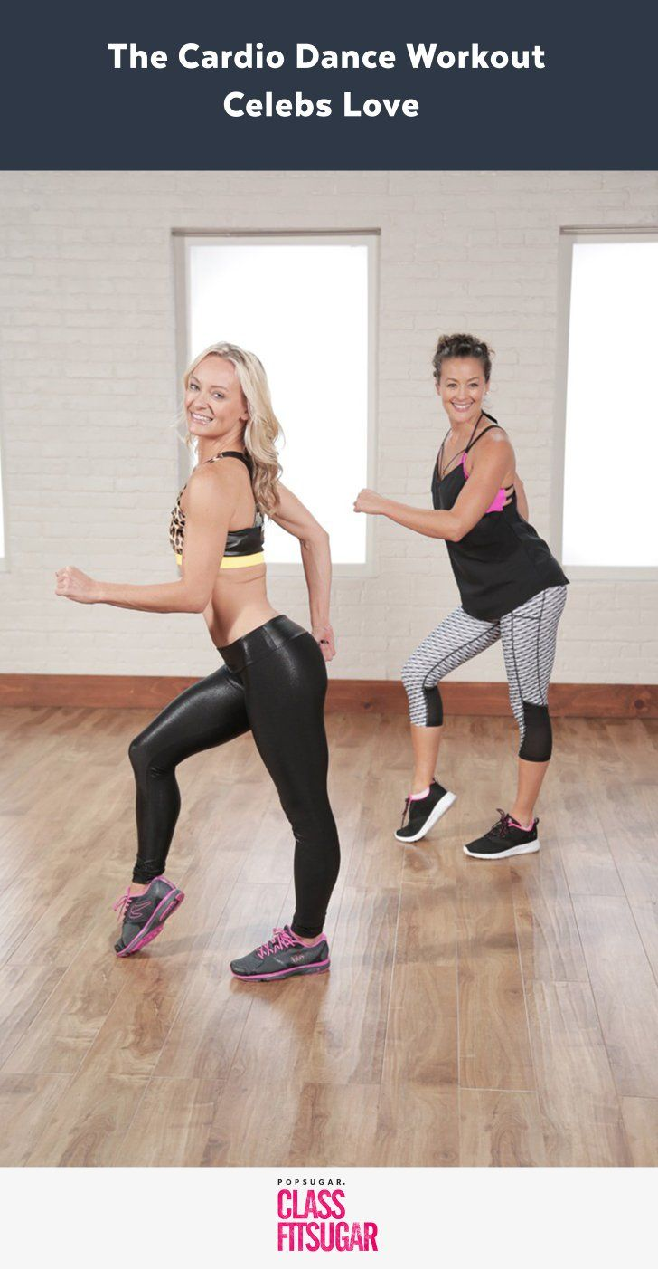 The 25 Min Cardio Dance Workout Celebs Love
