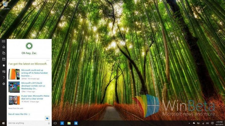 Windows 10: Cortana and Search get integrated with the Start Menu