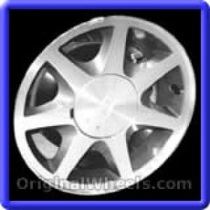 Ford Contour 1995 Wheels & Rims Hollander #3117  #Ford #Contour #Ford Contour #1995 #Wheels #Rims #Stock #Factory #Original #OEM #OE #Steel #Alloy #Used