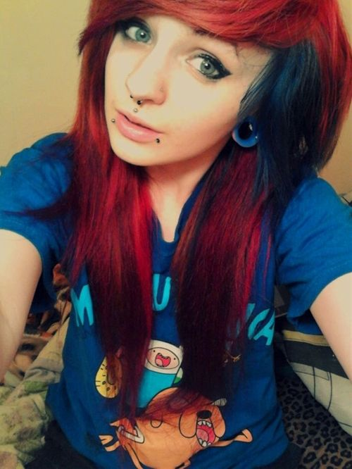 emo hair - Click image to find more hair posts