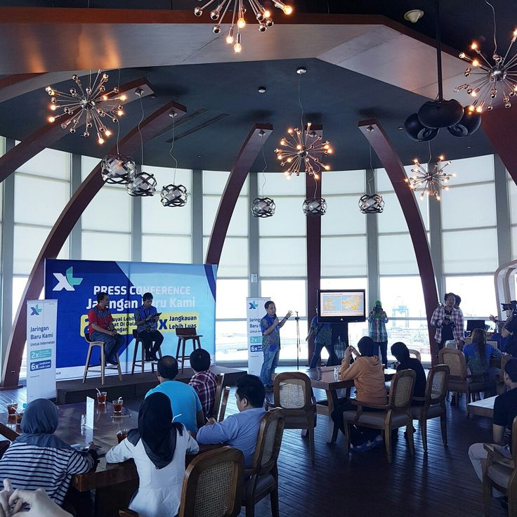 """Today we are hosting for Press Conference """"New Network of XL"""". 📞 3620800  #on20makassar 