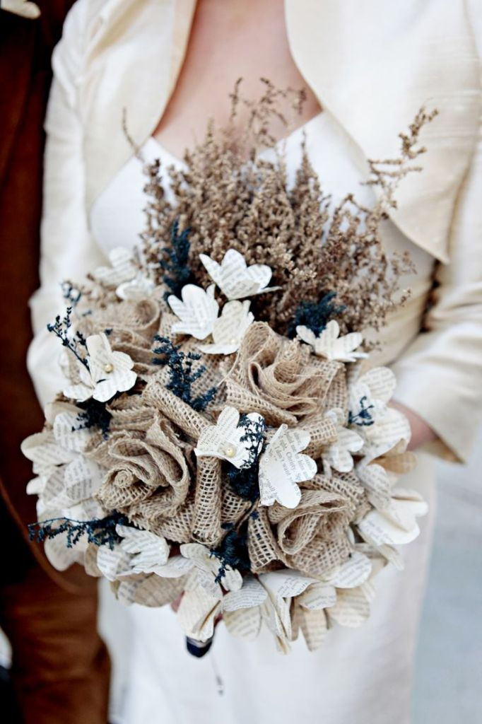20 Unique DIY Wedding Bouquet Ideas – Part 1 | http://www.deerpearlflowers.com/unique-diy-wedding-bouquet-ideas/