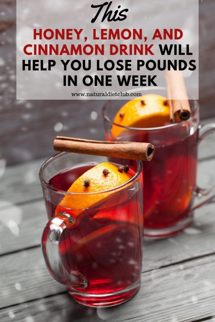 This Honey, Lemon, And Cinnamon Drink Will Help You Lose Pounds in One Week