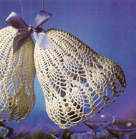 Y364 Crochet PATTERN ONLY Pineapple Wedding Bells Patterns