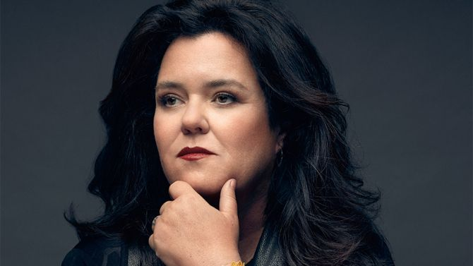 Rosie O'donnel Returns to the View