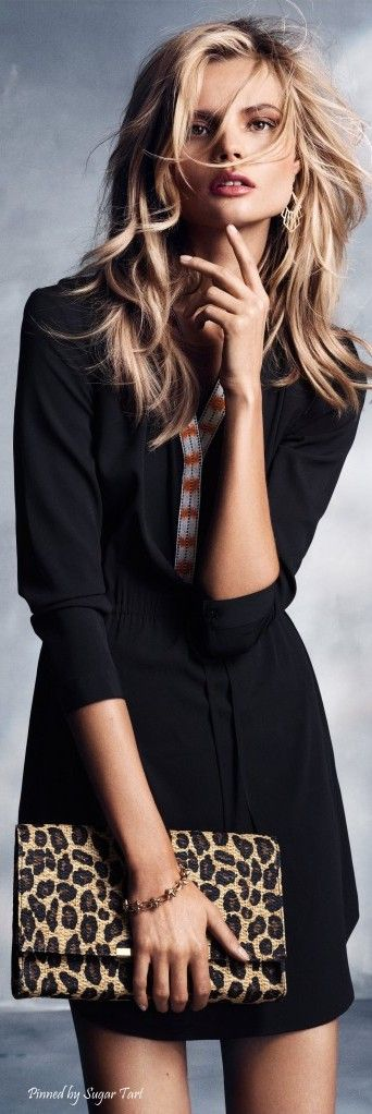 Magdalena Frackowiak for H&M women fashion outfit clothing stylish apparel @roressclothes closet ideas