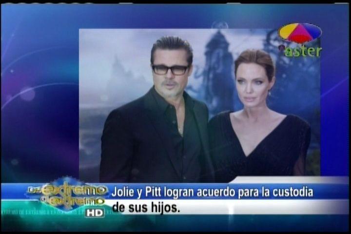 Farándula Extrema, Jary Ramirez y Alex Macías: Jolie y Pitt Logran Acuerdo Para Custodia De Sus Hijos