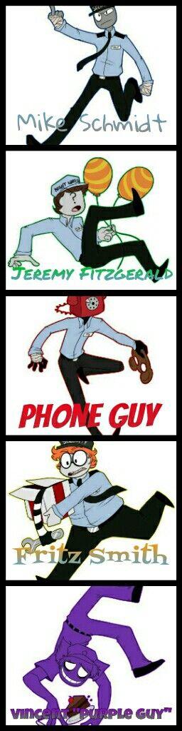 Afton William Guy X Phone
